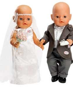 baby born wedding