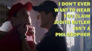 Coach defends Judith Butler