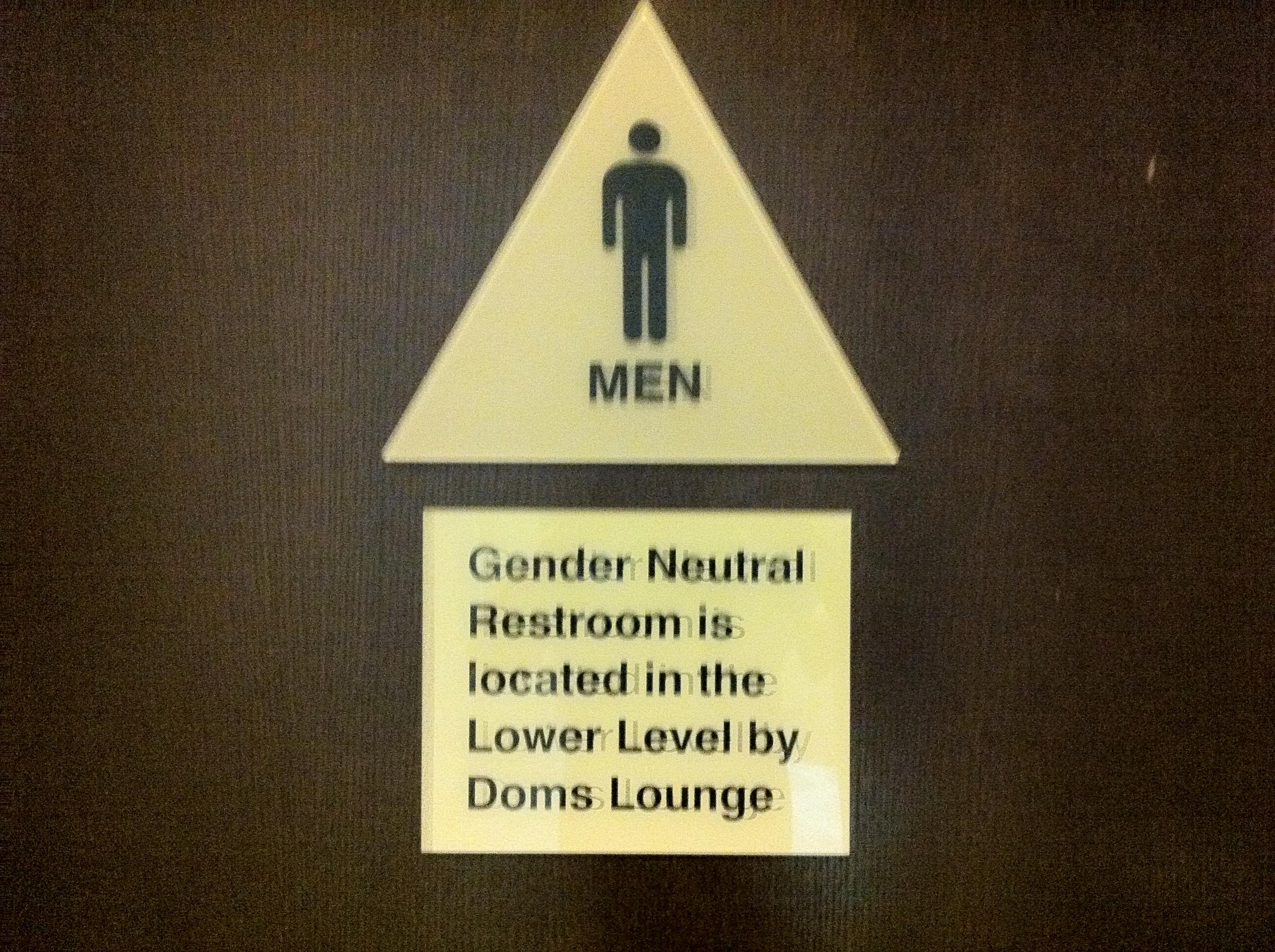 gender neutral bathrooms – feminist philosophers