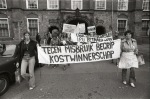 Women demonstrating in The Hague in 1978