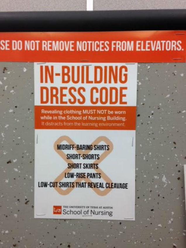 UT Austin Dress Code