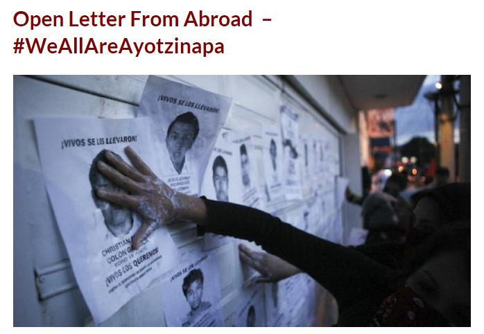 ayotzinapa petition