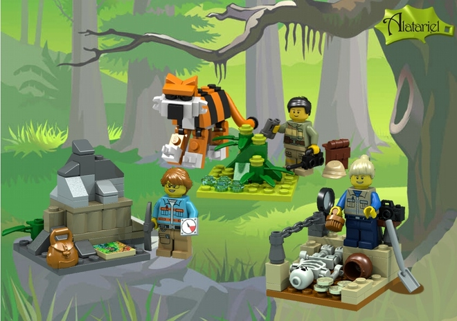 Science Adventures LEGO set